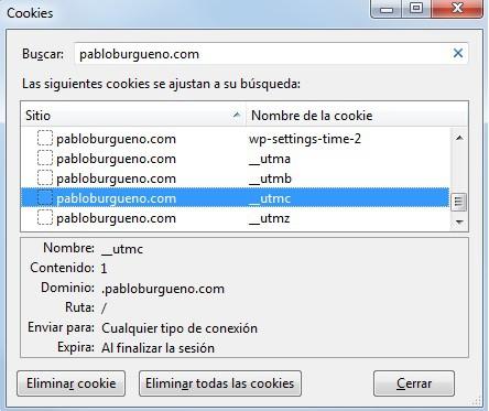 Las cookies de Google Analytics pueden instalarse después de que el usuario lo consienta. En los blogs personales sin publicidad no es necesario pedir consentimiento.